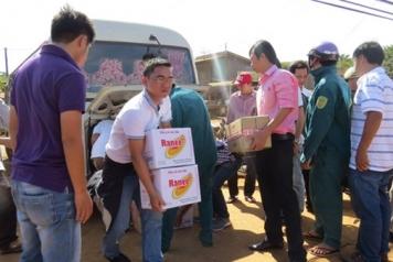 Tiền Phong về với xã nghèo biên giới